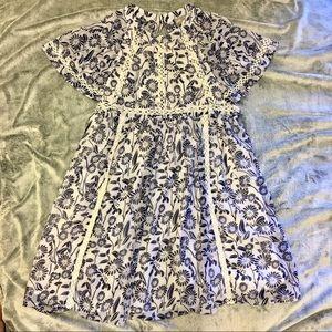 ASOS FLORAL mini dress chiffon